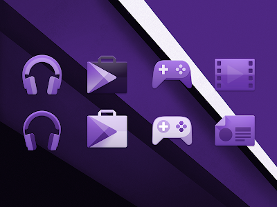PURPLE. Icon Pack v1.1