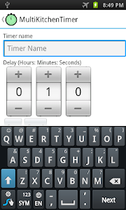 Multi Kitchen Timer screenshot 5
