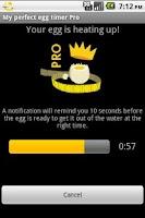 Screenshot of My perfect egg timer PRO