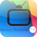 Moovy streamer TV icon