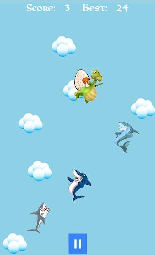 保持距離,鯊魚!