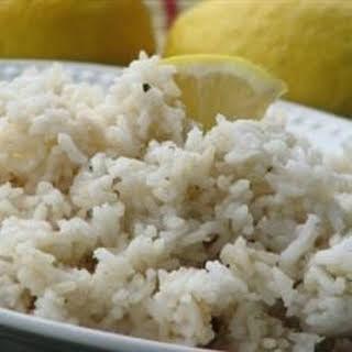 Lemon Thyme Rice.