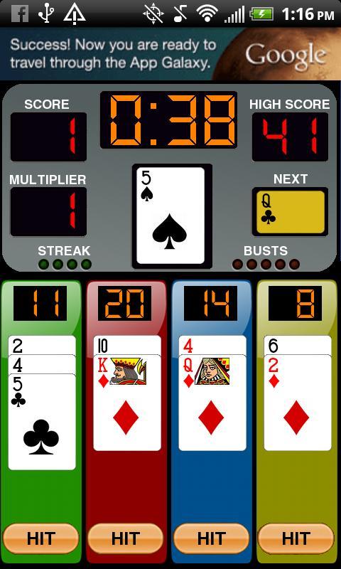 Four By 21- screenshot