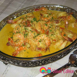 Prawns | Shrimp in Curry Sauce