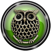 3D Owl Pendant Live Wallpaper
