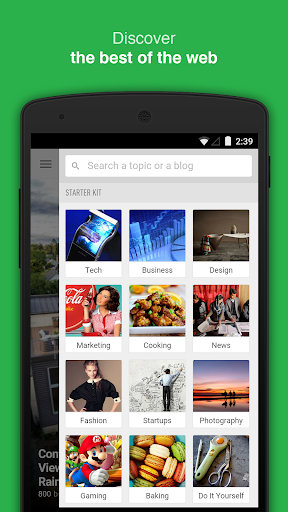 Feedly - Get Smarter app (apk) free download for Android/PC/Windows screenshot