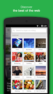 Feedly. Your news reader. - screenshot thumbnail