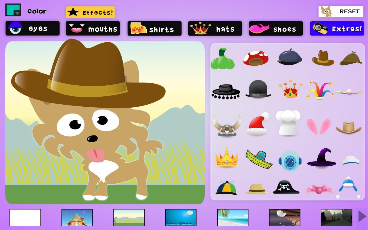 Dress the Dog- screenshot