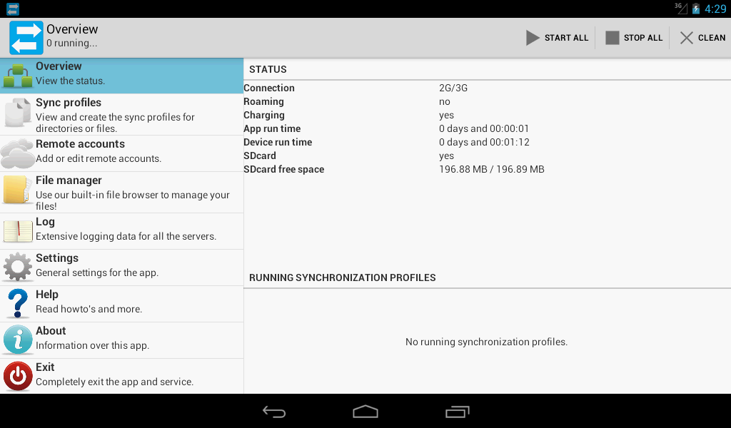 Synchronize Ultimate - screenshot