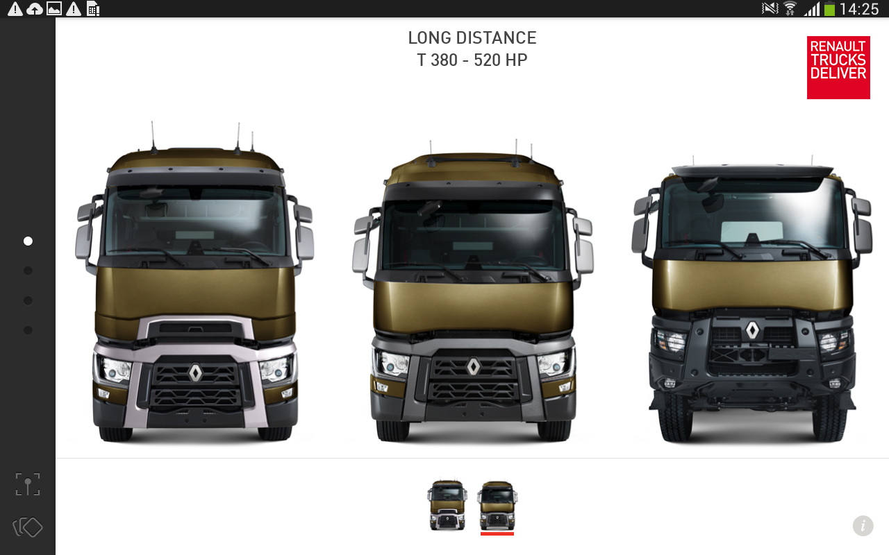 The Range by Renault Trucks – Capture d'écran