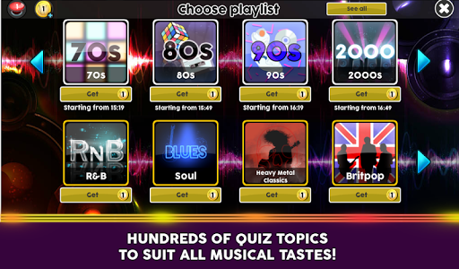 Wazasound Live Music Trivia 1.3.000 screenshots 3