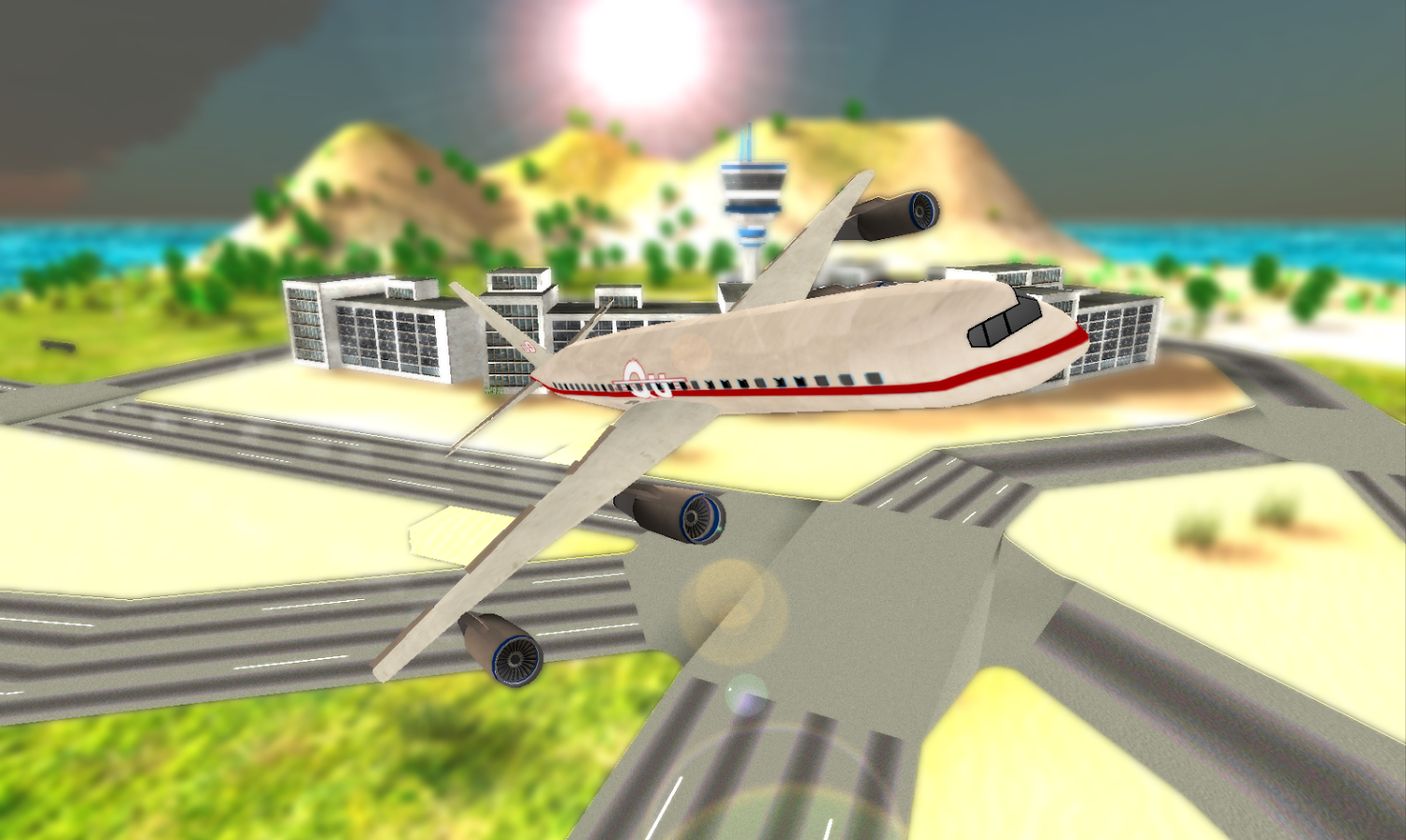 Flight Simulator: Fly Plane 2- screenshot