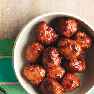 Honey-Chipotle Turkey Meatballs.
