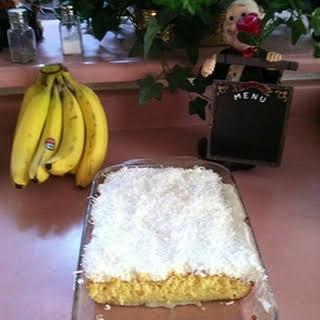 Super Moist Coconut Sheet Cake.