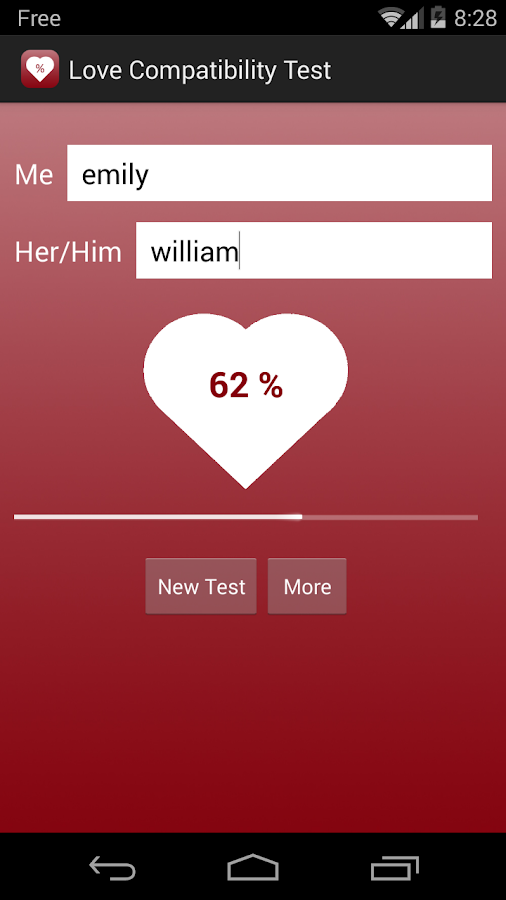 Love Compatibility Test PRO- screenshot