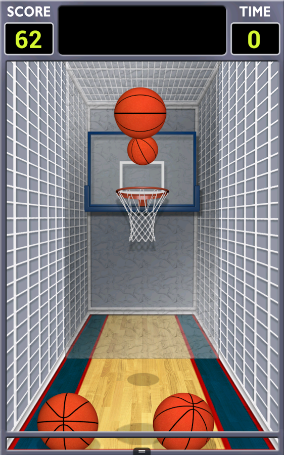Mini Shot Basketball- screenshot