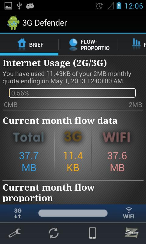3G Defender(Data Manager)- screenshot