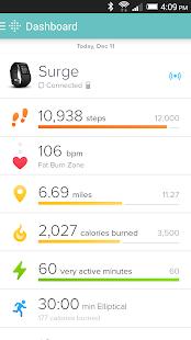 Fitbit - screenshot thumbnail