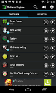 screenshot image - Christmas Ringtones Android