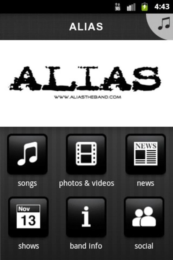 ALIAS - screenshot