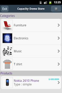 Magento Mobile Store - screenshot thumbnail