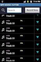 Screenshot of MP3 MUSIC CUTTER