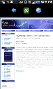 Psychology LCD - News & Blogs - screenshot thumbnail