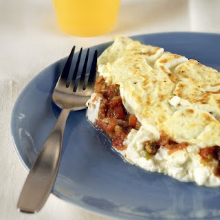 Egg-White Omelet with Goat Cheese.