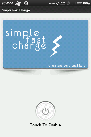 Simple Fast Charge