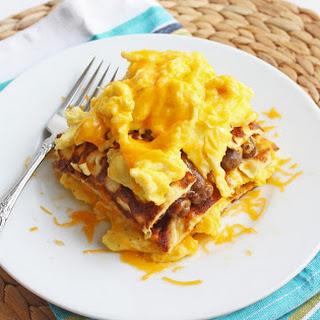 Low Carb Breakfast Lasagna.