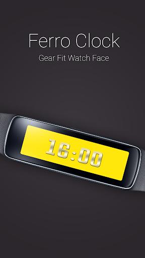 Ferro Clock for Gear Fit
