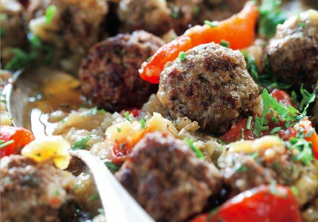 Beef and Eggplant Meatballs Recipe