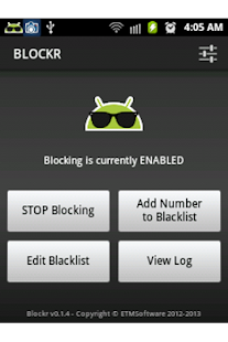 Blockr Screenshot