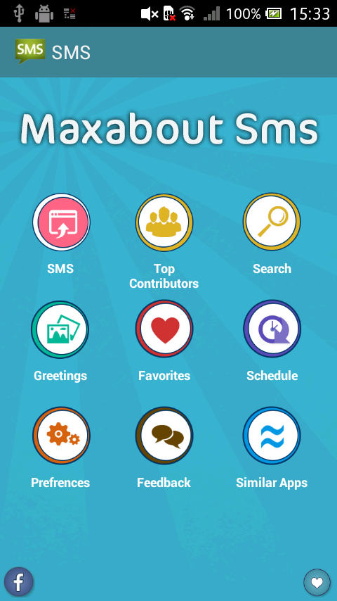 Maxabout SMS- screenshot