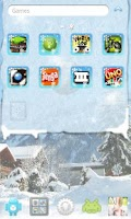 Screenshot of Winter Theme