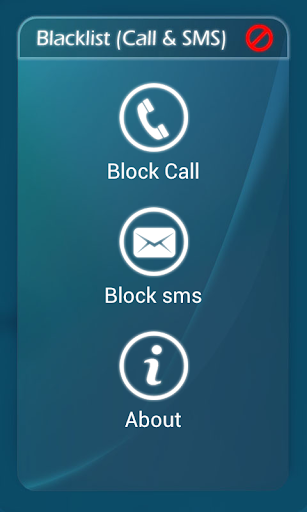 Stop Calls and SMS blacklist