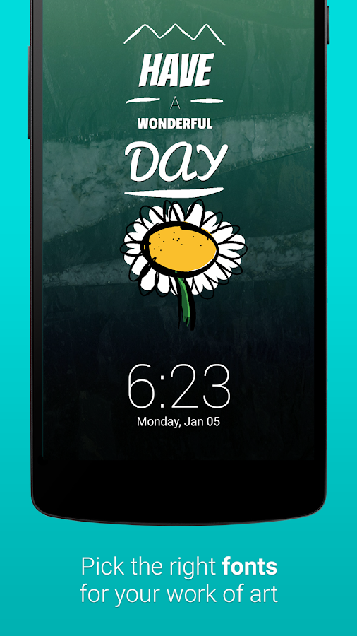 LokLok: Connected Lock Screen - screenshot