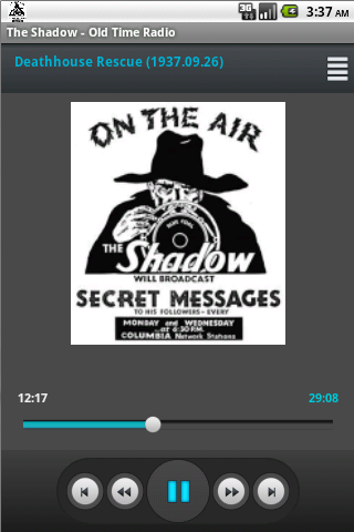 The Shadow Old Time Radio