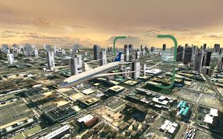 Screenshot of Flight Simulator: City Plane