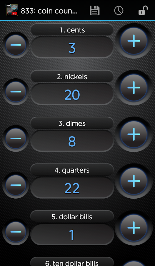 Advanced Tally Counter- screenshot