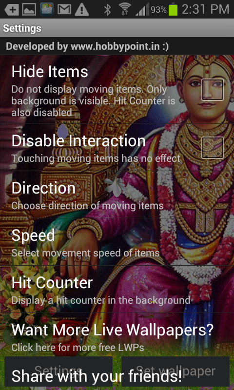 Swaminarayan HQ Live Wallpaper- screenshot