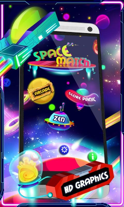 Space Match Deluxe- screenshot