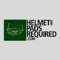 Helmet and Pads Required logo