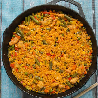 Chicken with Rice Spanish Style - Arroz Con Pollo Recipe