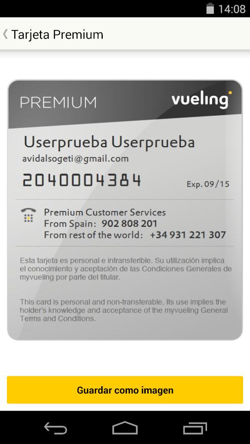 Vueling - Vuelos baratos - screenshot