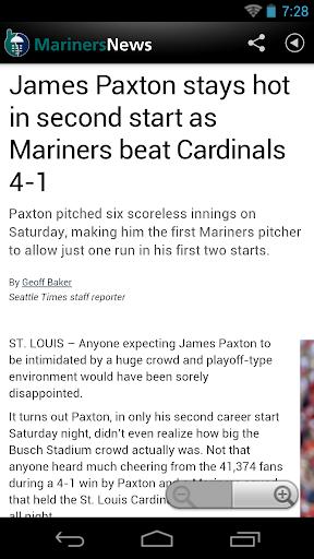 Seattle Baseball News for PC