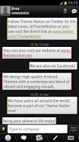 Screenshot of GO SMS Theme - Theme Nation