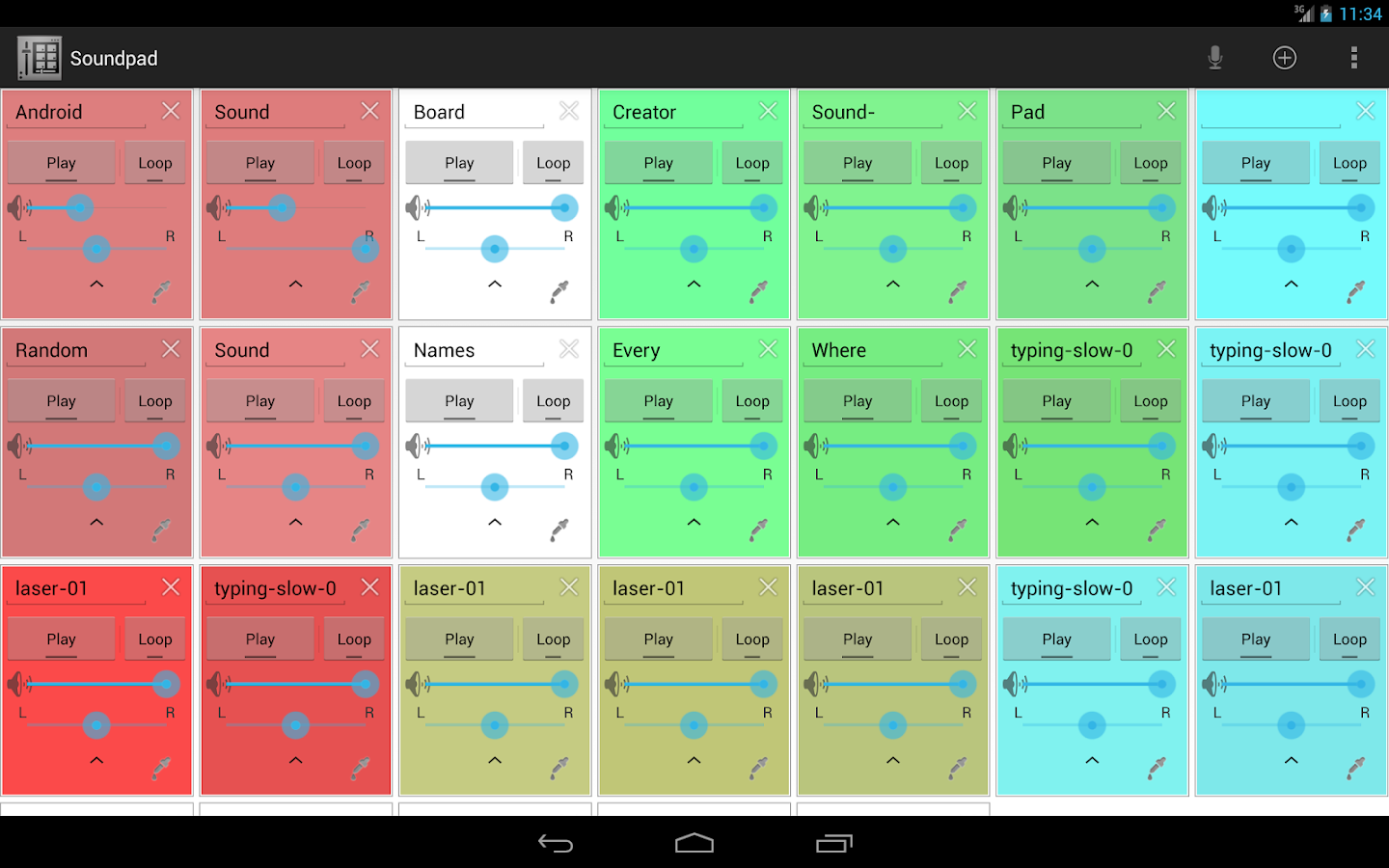 Soundboard Creator - Soundpad - screenshot