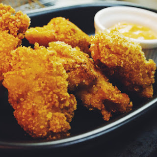 Pumpkin Fried Wings with Brava Dipping Sauce