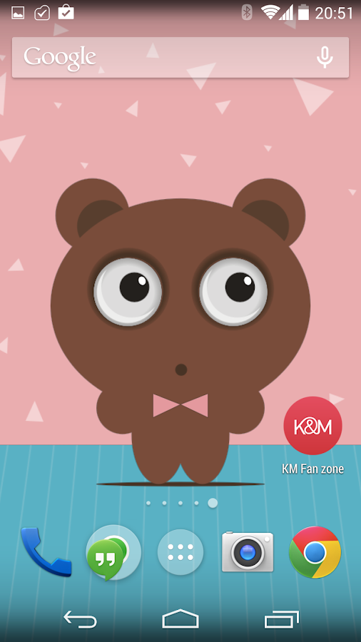 Tony Bear Live Wallpaper Free - screenshot